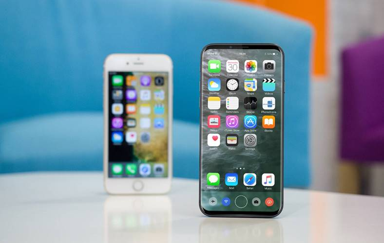iPhone 8 comparatie Samsung Galaxy S8 design