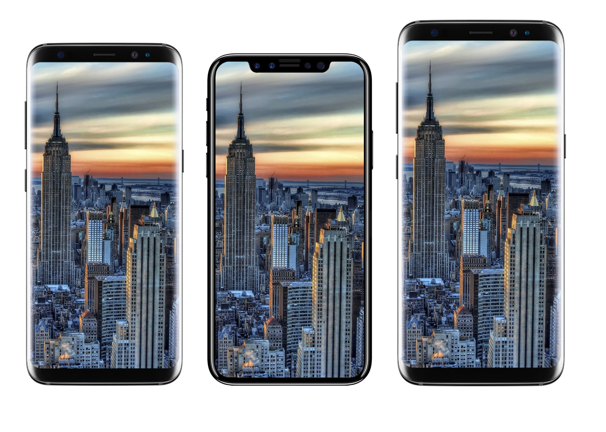 iPhone 8 concept comparatie 1
