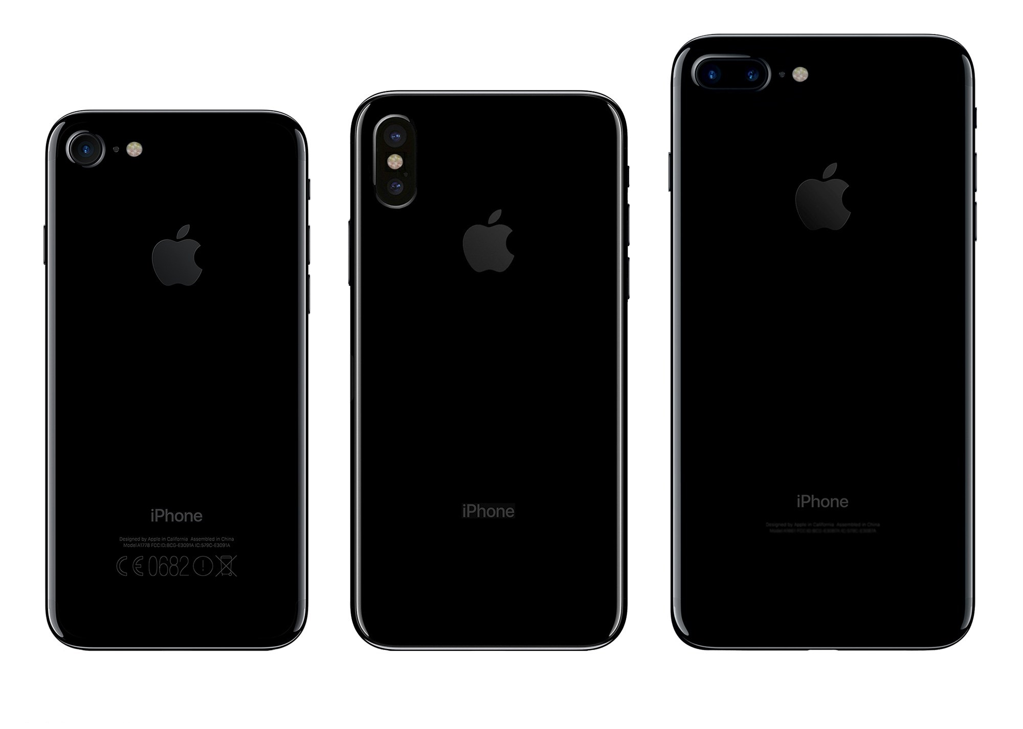 iPhone 8 concept comparatie 2