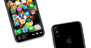 iPhone 8 concept interfata buton home