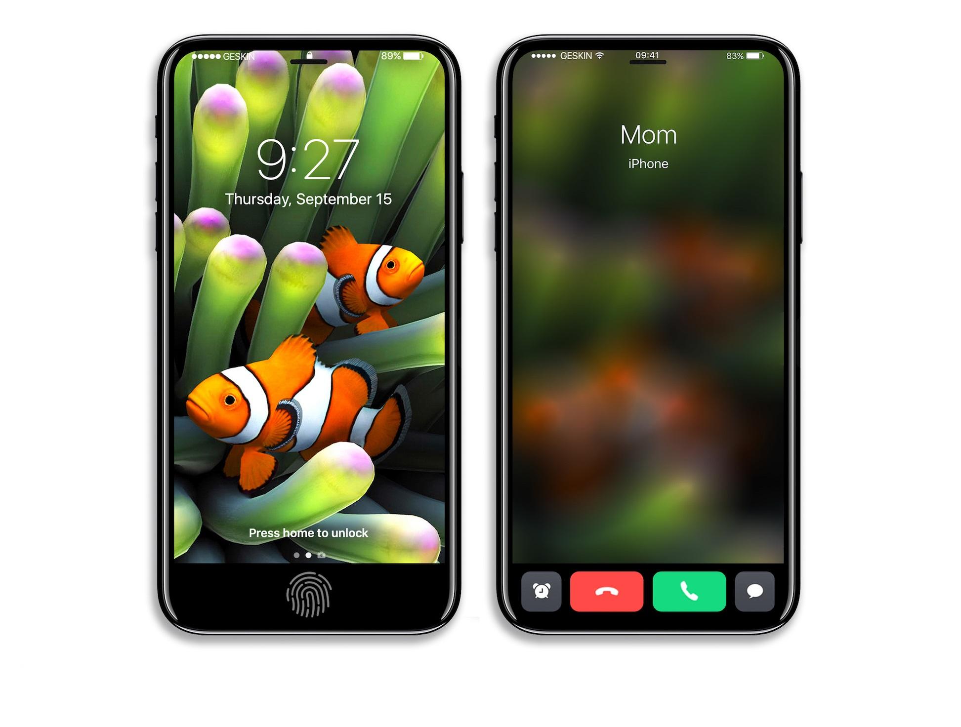 iPhone 8 concept interfata urata 5