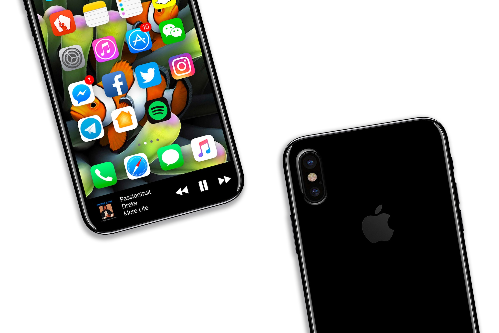iPhone 8 concept interfata urata 7