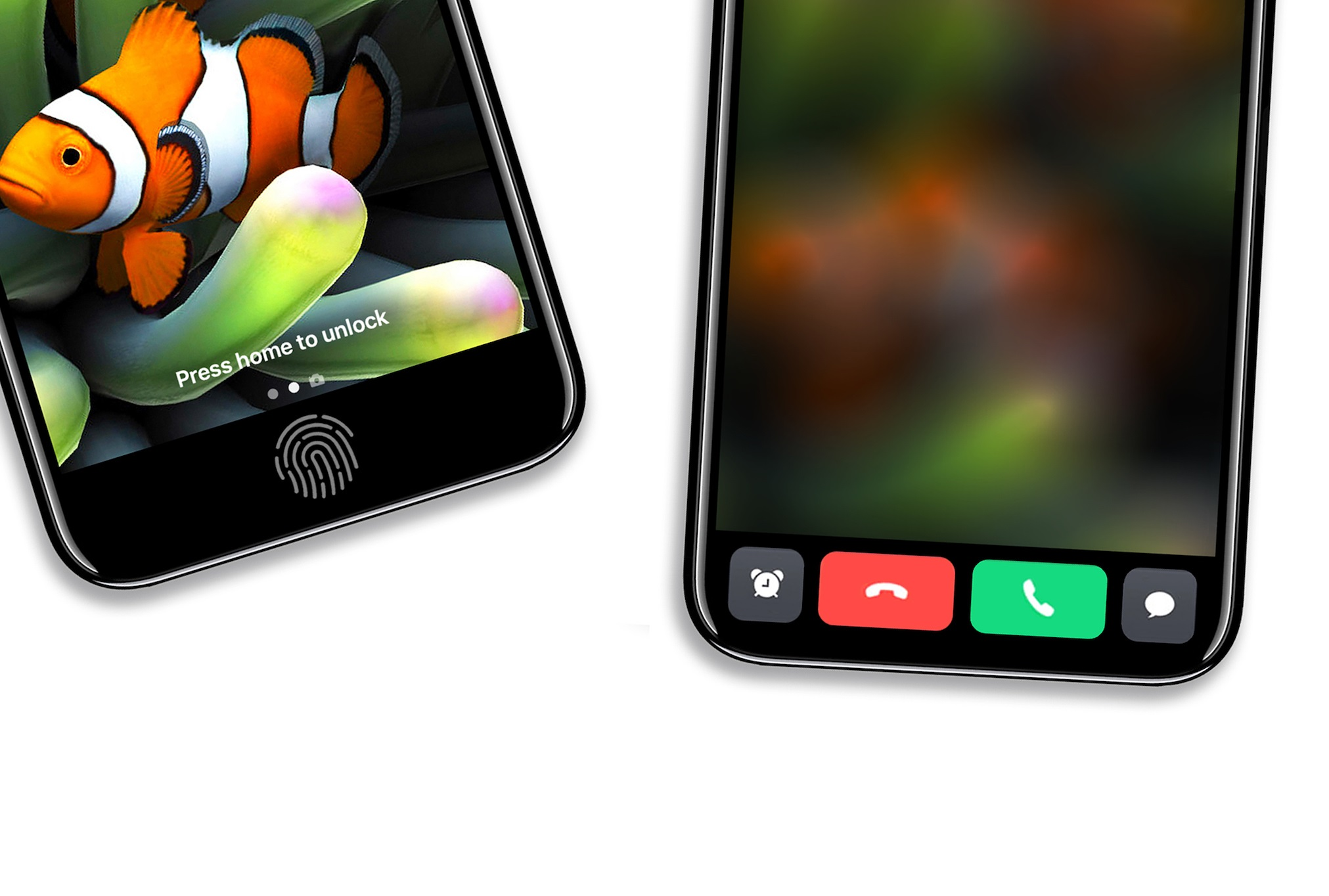 iPhone 8 concept interfata urata