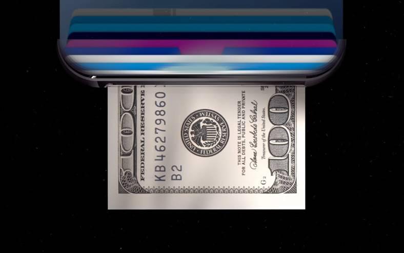 iPhone 8 imprimare bani