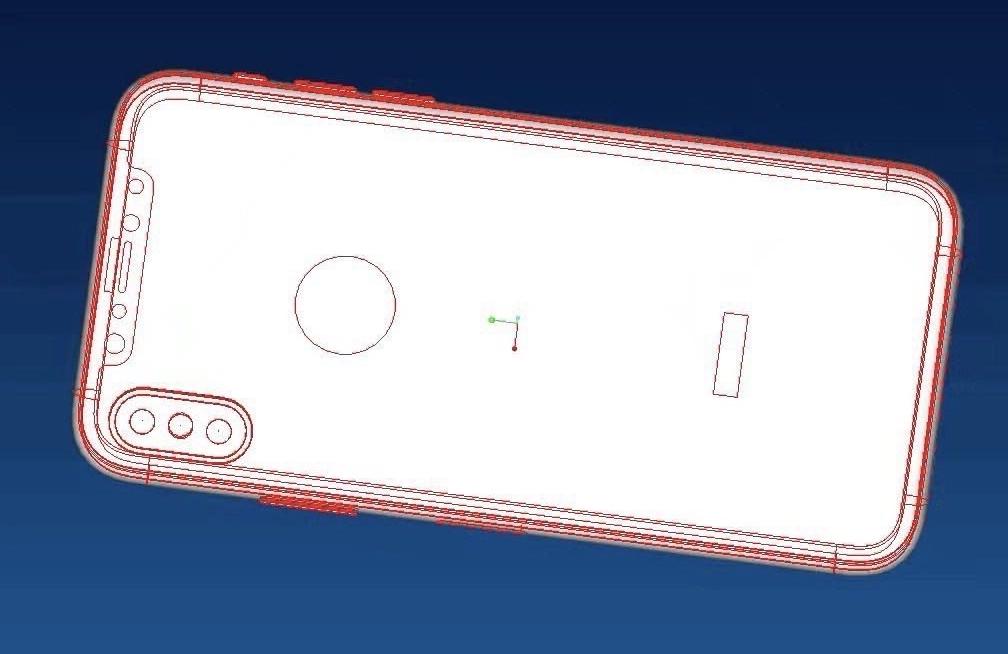 iPhone 8 schita design 1