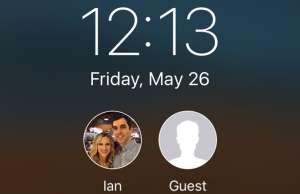 iPhone conturi utilizator iPad
