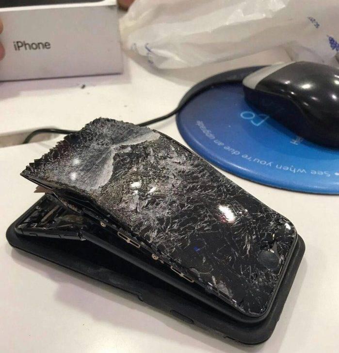 iphone 7 explozie apel 3