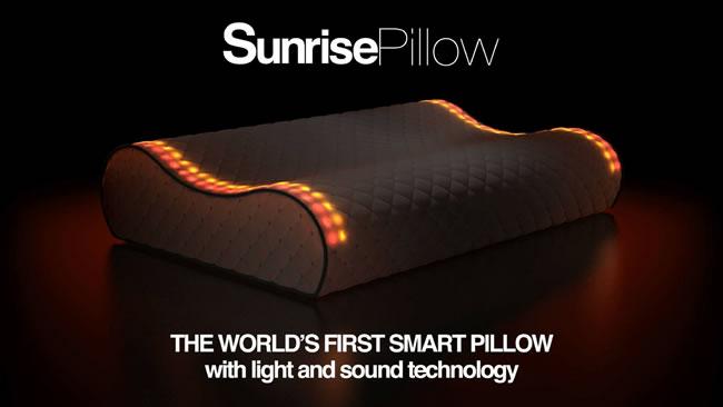 Sunrise Pillow perna inteligenta de trezire