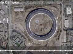 Apple Park evolutie 2 ani