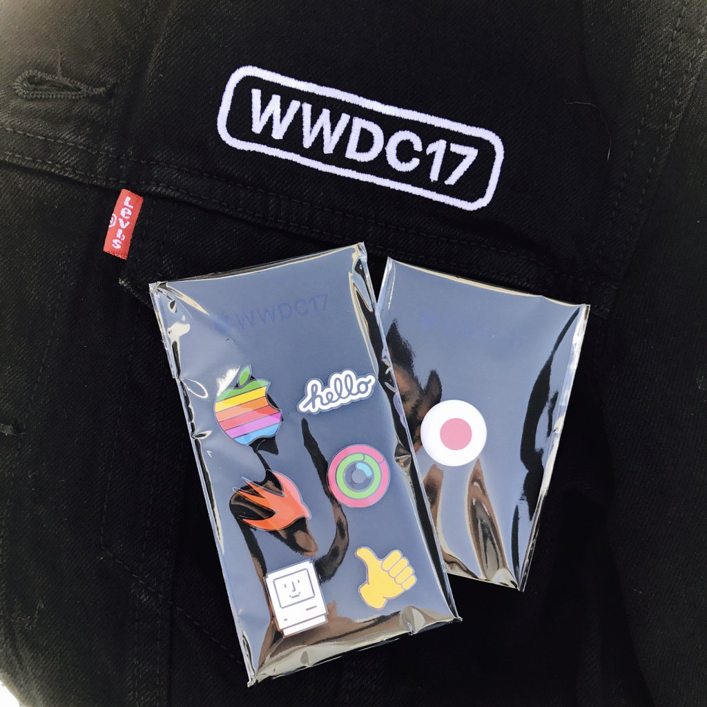Apple WWDC 2017 jacheta Levi's 1