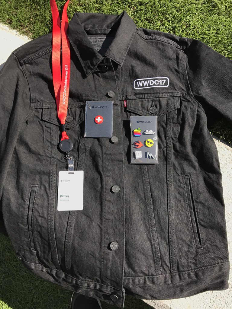 Apple WWDC 2017 jacheta Levi's