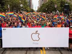 Apple presedinte gay parade