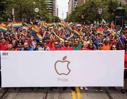 Apple presedinte gay parade