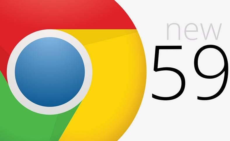 Chrome 59 Google