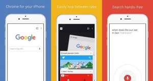 Google Chrome actualizare iPhone iPad