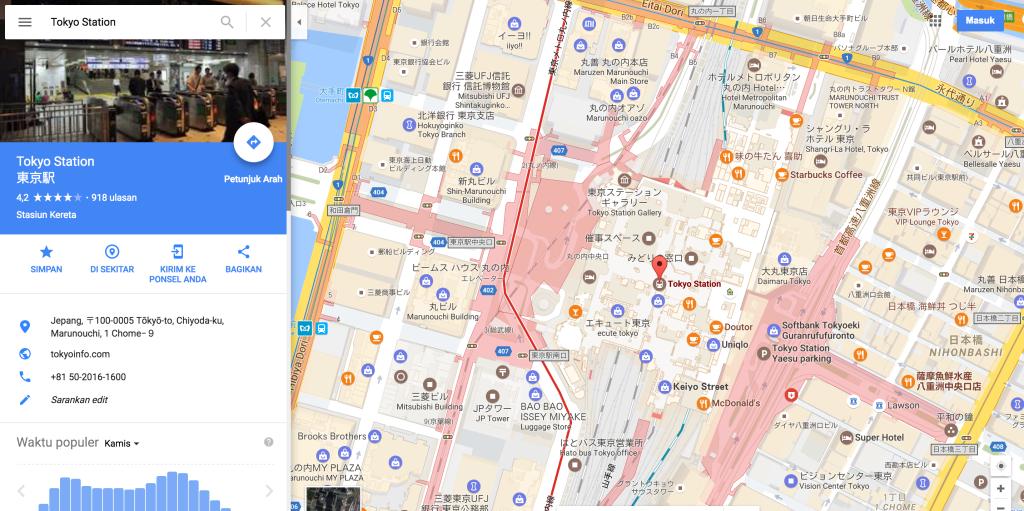Google Maps harti statii metrou
