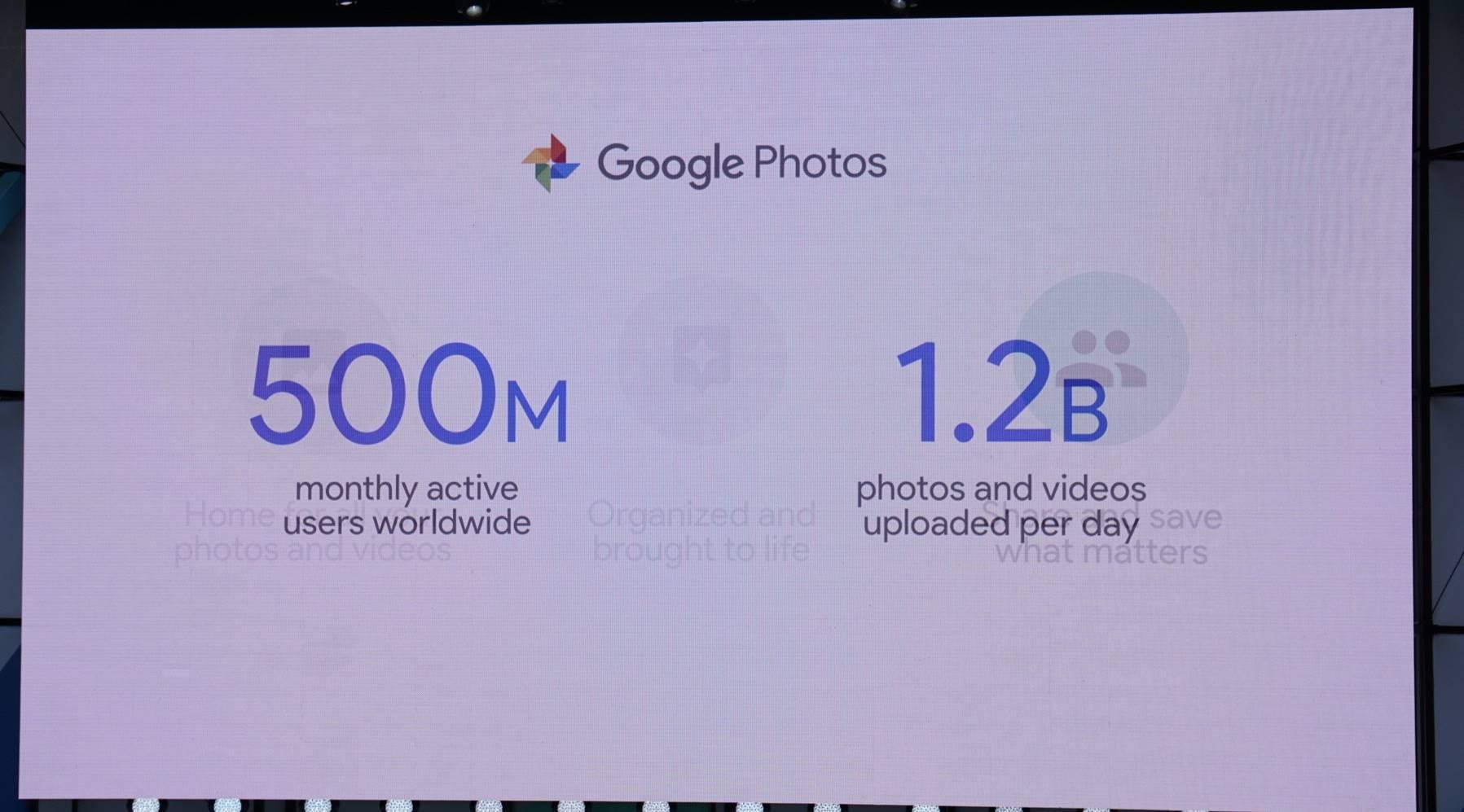 Google Photos 1 miliard instalari
