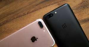 OnePlus 5 avantaj iPhone 7 Plus
