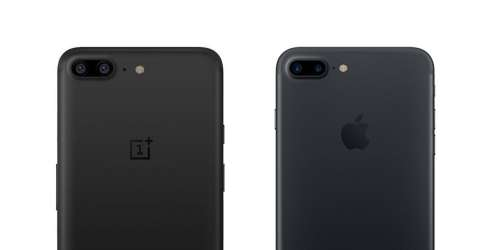 OnePlus 5 clona iPhone 7 Plus