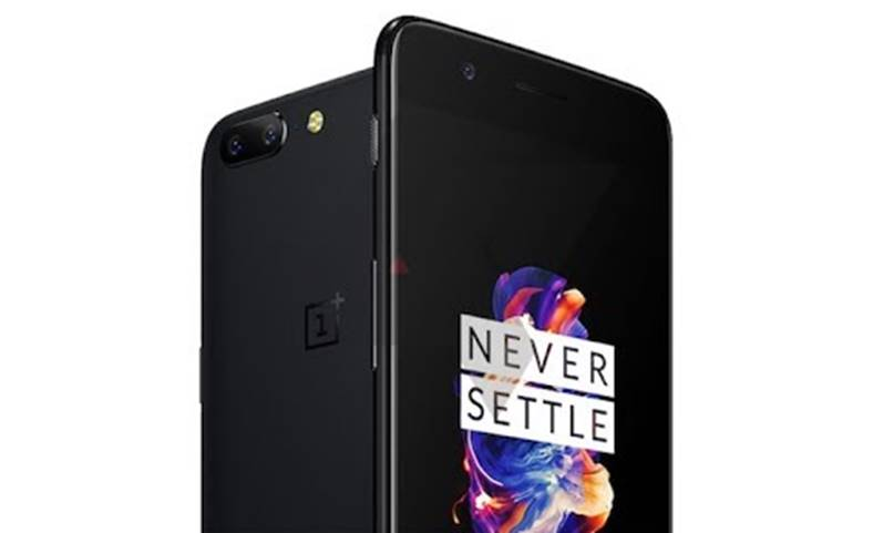 OnePlus 5 ironie iPhone 7 Plus