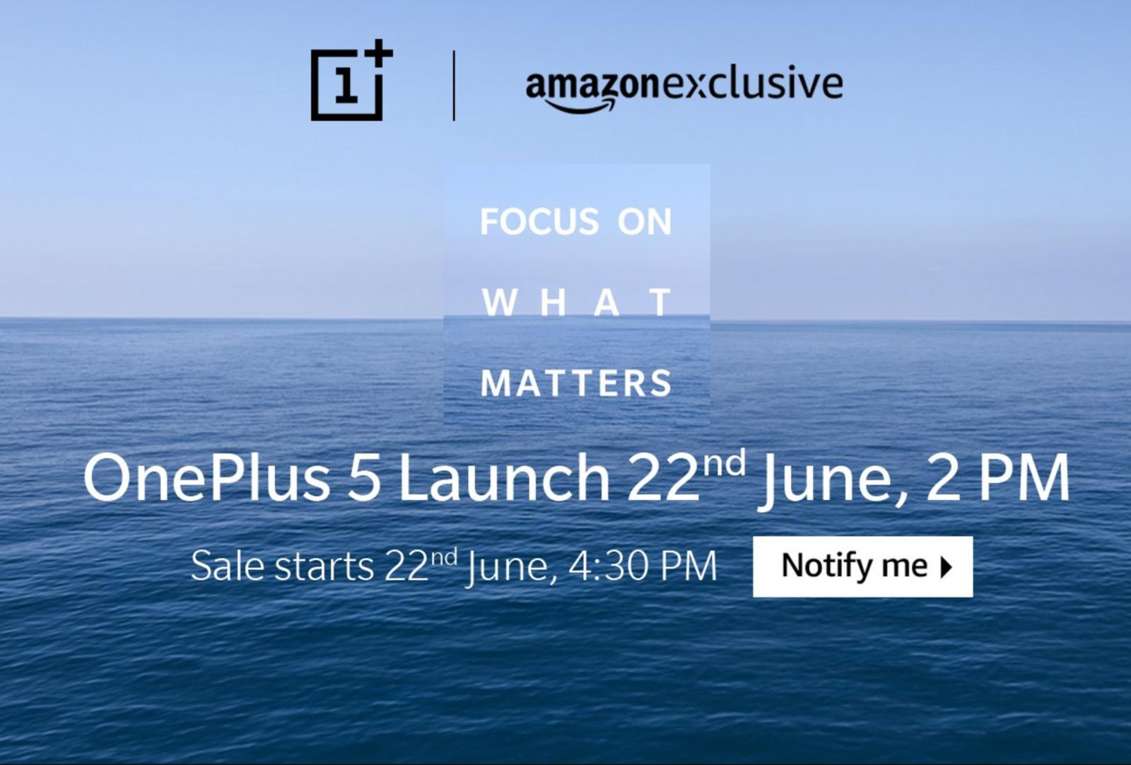 OnePlus 5 pret 8 GB RAM lansare 22 iunie