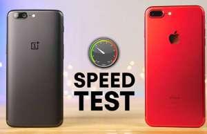 OnePlus 5 umilit iphone 7 plus performante