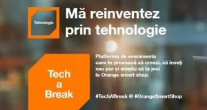Orange Tech a Break Shop