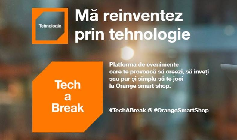 Orange Tech a Break Shop