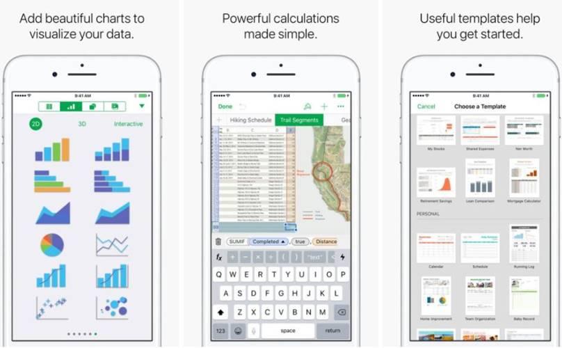 Pages, Keynote, Numbers update iPhone