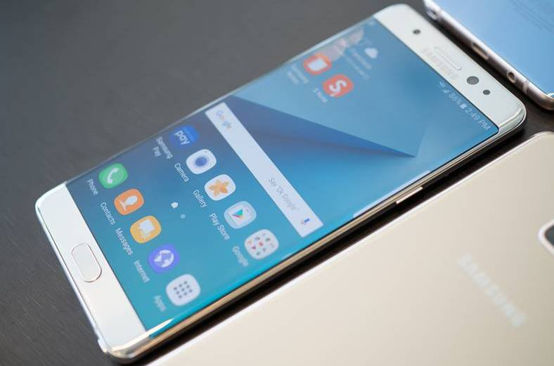 Samsung Galaxy Note 8 cititor amprente carcasa