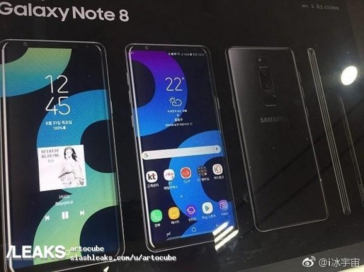 Samsung Galaxy Note 8 imagine presa