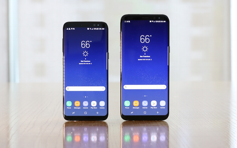 Samsung Galaxy S8 6 GB RAM performante iPhone