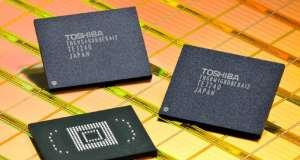 Toshiba divizie memorii Apple