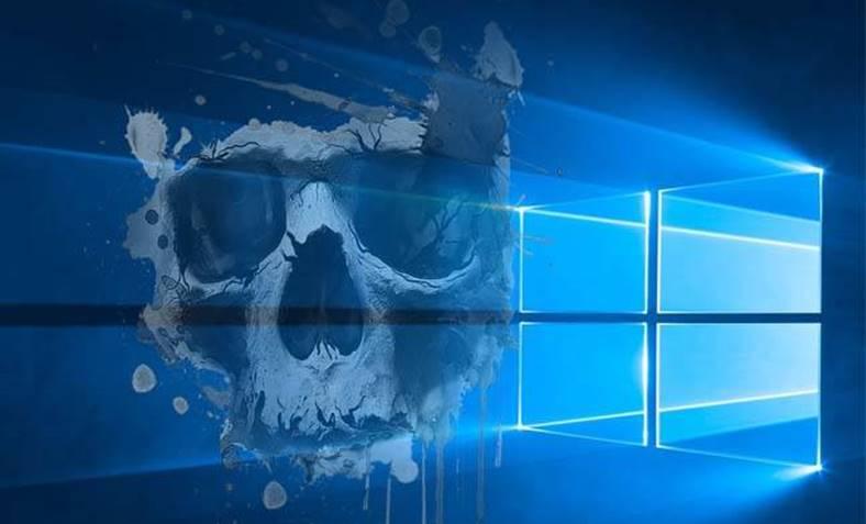 Windows 10 masura disperata malware