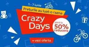 eMAG 1 iunie reduceri Crazy Days ziua copilului