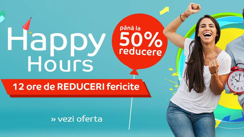 eMAG Happy Hours reduceri exclusive 12 ore
