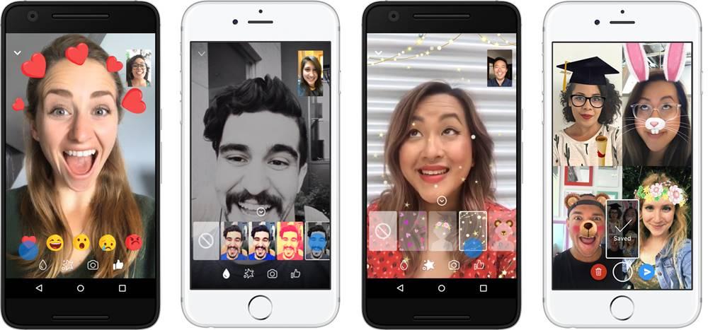 facebook messenger functii filtre video