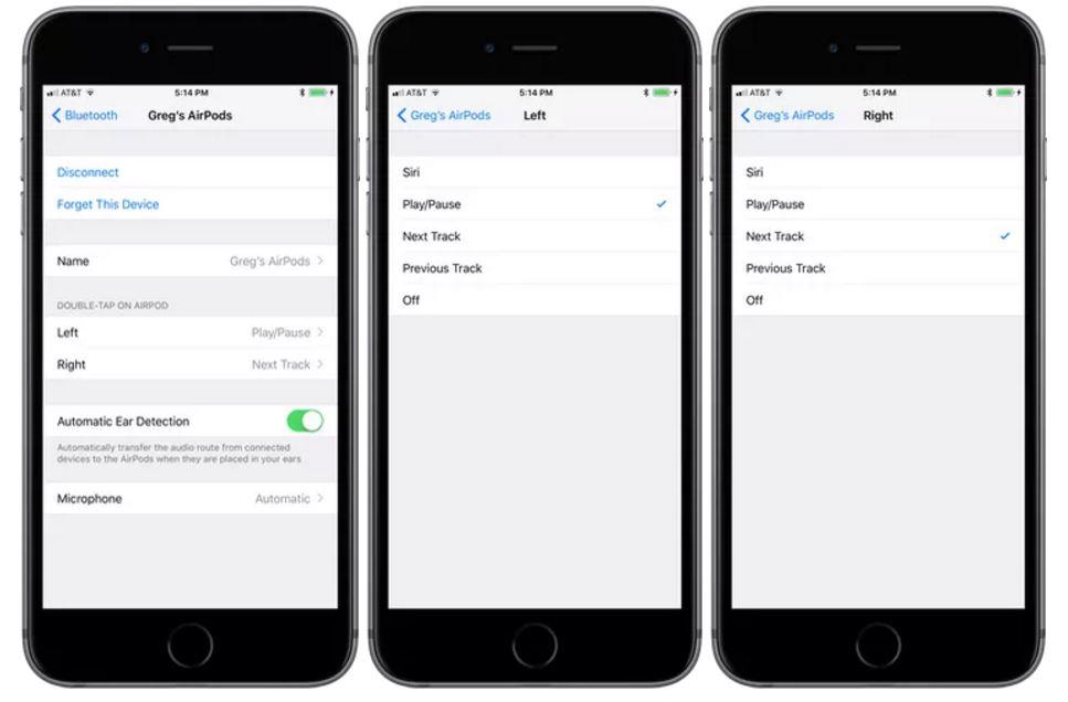 iOS 11 AirPods