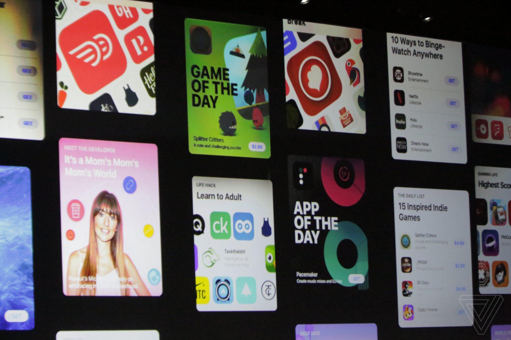 iOS 11 App Store design