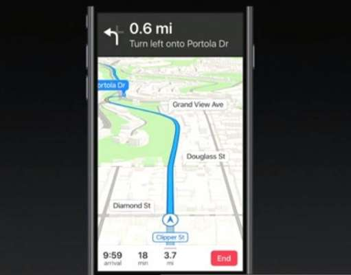 iOS 11 Apple Maps Waze Google Maps