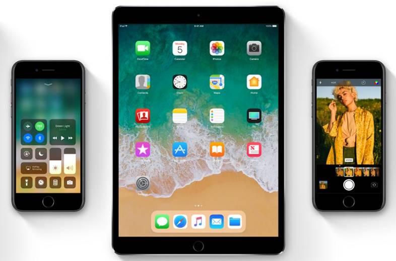 iOS 11 GPS iPhone iPad