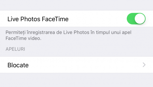 iOS 11 Live Photos FaceTime