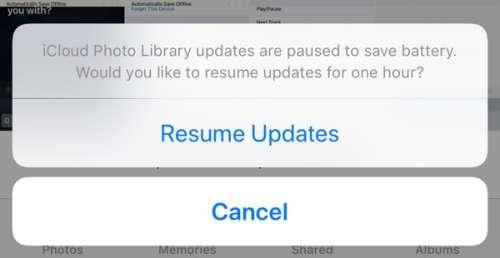 iOS 11 actualizari pauza