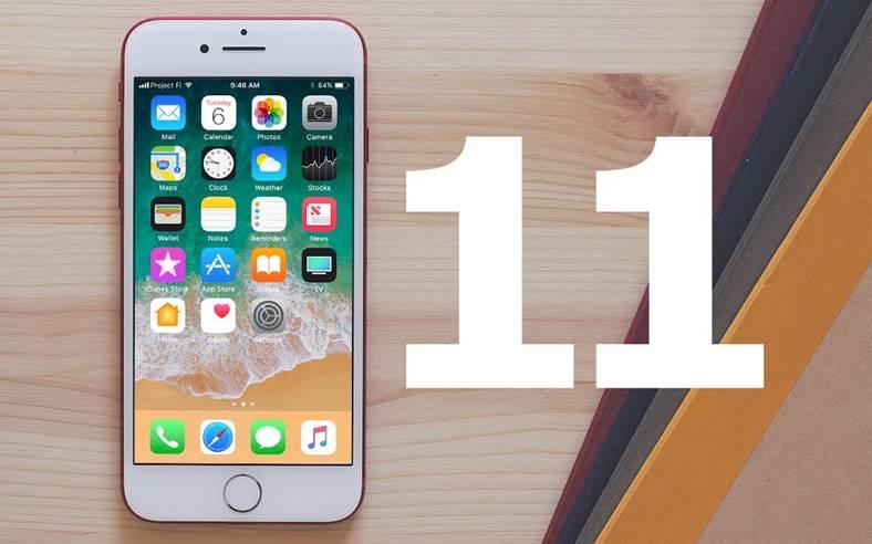 iOS 11 ascunde status bar dock iPhone