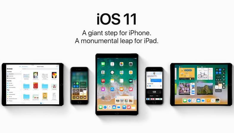 iOS 11 beta 1 iPhone iPad