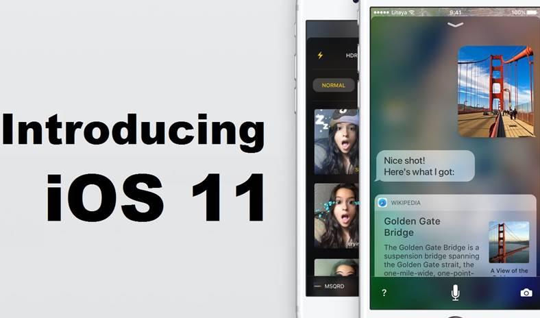 iOS 11 concept noutati iPhone iPad