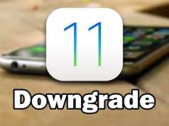 iOS 11 downgrade iOS 10.3.2 iPhone iPad