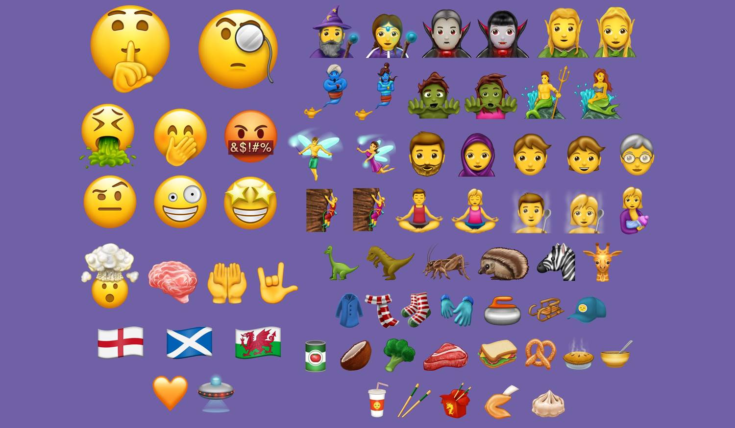 iOS 11 emoji iPhone iPad