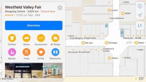 iOS 11 harti cladiri mall