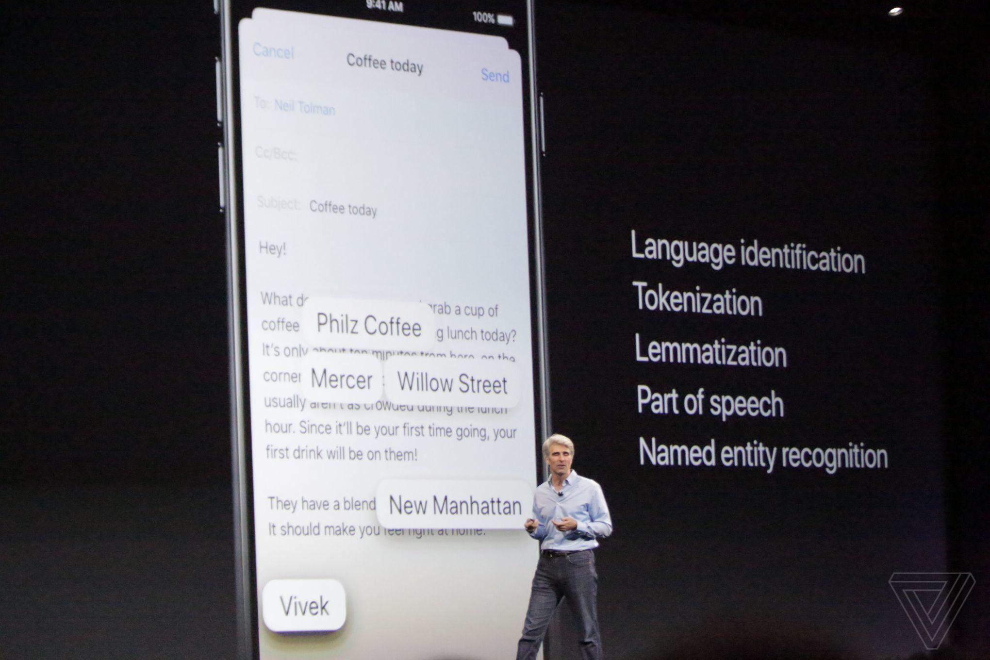 iOS 11 inteligenta artificiala